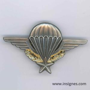 Brevet Parachutiste G 1185 + Barrette