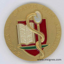 Ecole de Santé des Armées Médaille de table 70 mm