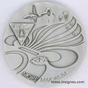 2° REP Médaille de table 65 mm
