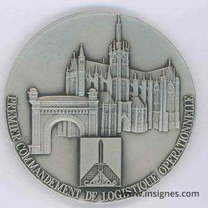 1° COMLOG Médaille de table 65 mm