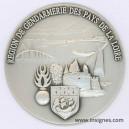 Region de Gendarmerie des PAYS DE LA LOIRE Fond de coupelle 65 mm