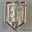 92° Régiment d'Infanterie Argenté