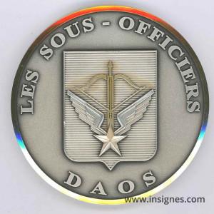 DAOS Les Sous-Officiers Médaille 70 mm Forces Spéciales