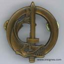 Brevet équipage subaquatique tout bronze