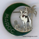 MAROC Insigne souvenir