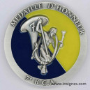 7° Bataillon de Chasseurs Alpins BCA Médaille de table 68 mm