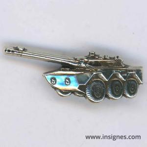 AMX 10 argenté 4 cm