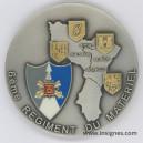 6° RMAT Médaille de table 70 mm