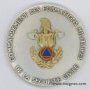 Commandement des Formations Militaires de le Sécurité Civile Médaille 65 mm