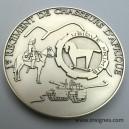 1° Régiment de Chasseurs d'Afrique Médaille de table 70 mm