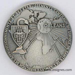DAEC ORLEANS Médaille de Table 64 mm