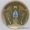 Ecole Nationale des Sous-Officiers d'Active Cinquantenaire Médaille 65 mm