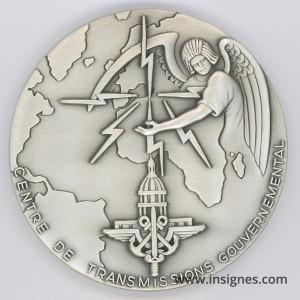 Centre de Transmissions Gouvernemental Médaille de table 68 mm