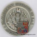 Etablissement Spécialisé du CAT ANGERS Médaille 70 mm