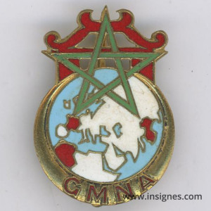 Groupement Mobile Nord-Africain GMNA Insigne Drago olivier Métra