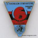 Cie GENIE 5° Bataillon d'Infanterie Sarajevo 1995