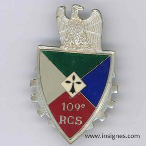 109° RCS Translucide en argent