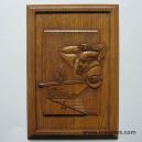 4° RMAT Panneau bois sculpté