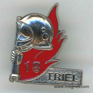 Triel Pin's casque