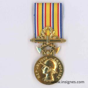 Médaille Ministère de l'Intérieur Echelon exceptionnel