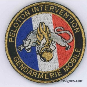 Peloton intervention Gend mobile Tissu